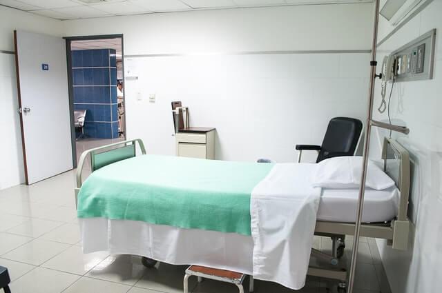 zgon w szpitalu